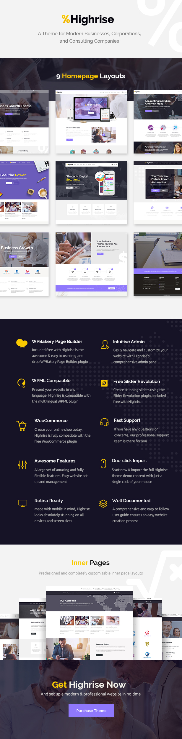 Highrise - Business, Corporation and Consulting Company Theme - 1